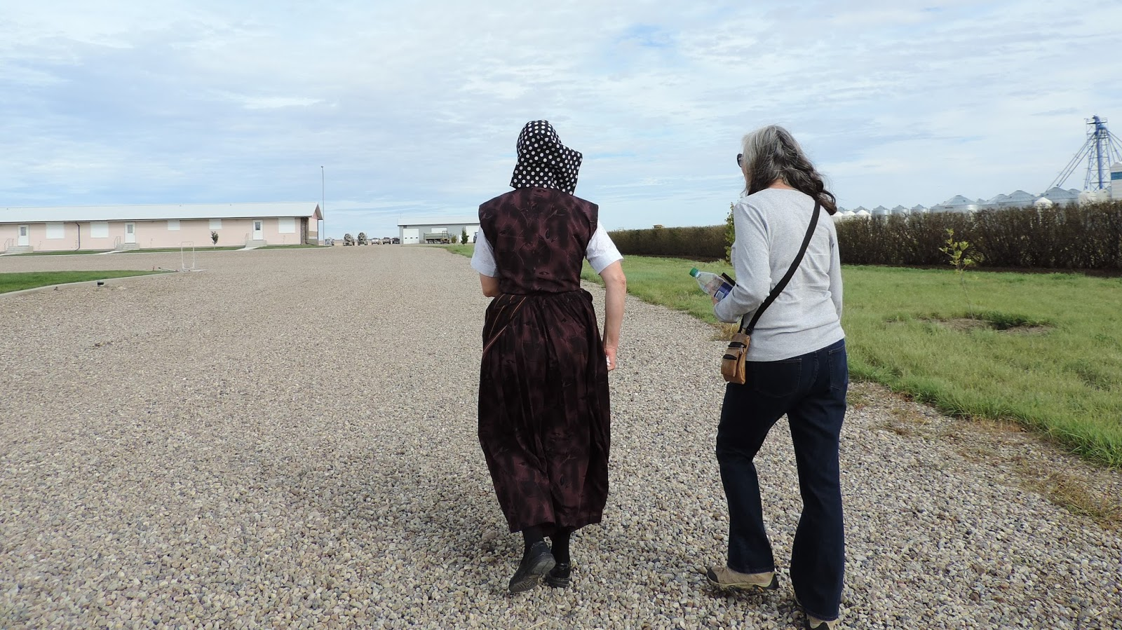 Travel with Kevin and Ruth!: A visit with the Hutterites