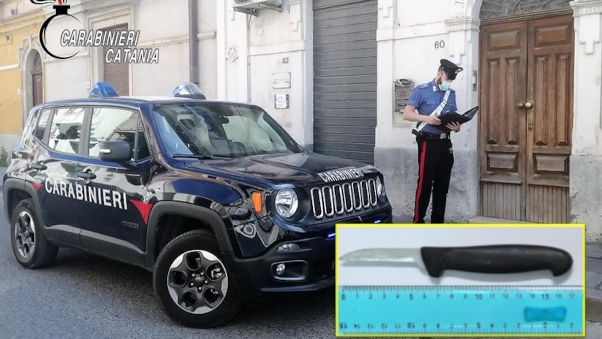 Grammichele tentato omicidio extracomunitari Carabinieri