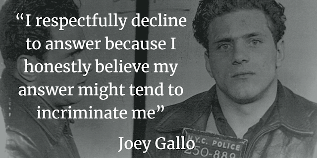 Joey Gallo mafia mafia quotes