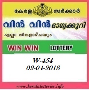 WIN WIN (W-454) LOTTERY RESULT