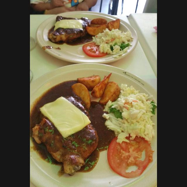 Chicken Chop sedap di Din's Cafe Sungai Besar