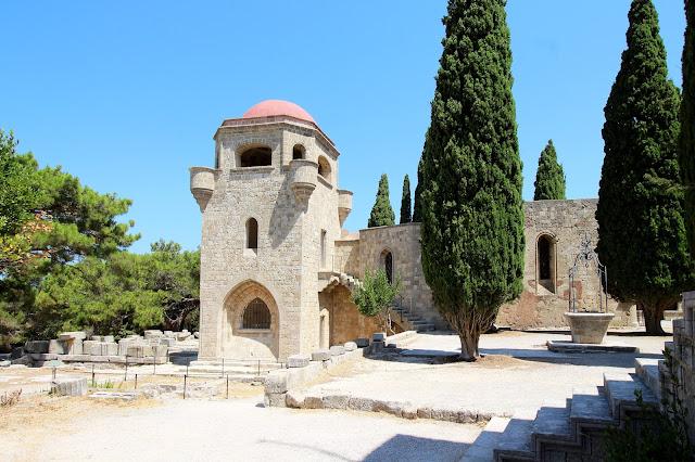 Filerimos, otok Rodos, Grčija