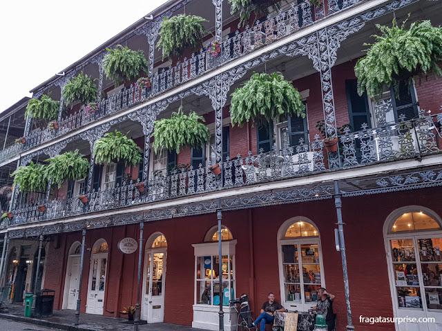 Casarão no French Quarter, Nova Orleans