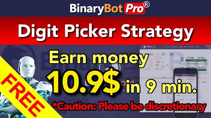 Digit Picker Strategy | Binary Bot Pro