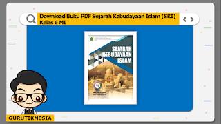 download ebook pdf  buku digital ski sejarah kebudayaan islam kelas 6 mi