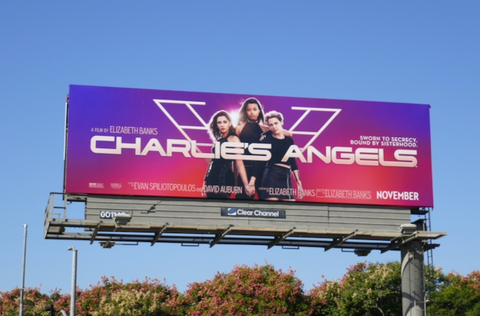 Charlies Angels movie reboot billboard