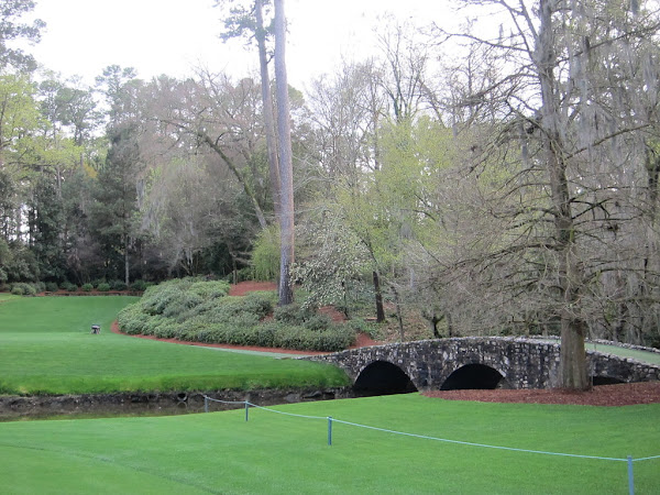 Photo of Nelson Bridge over Raes Creek at Augusta National Golf Club