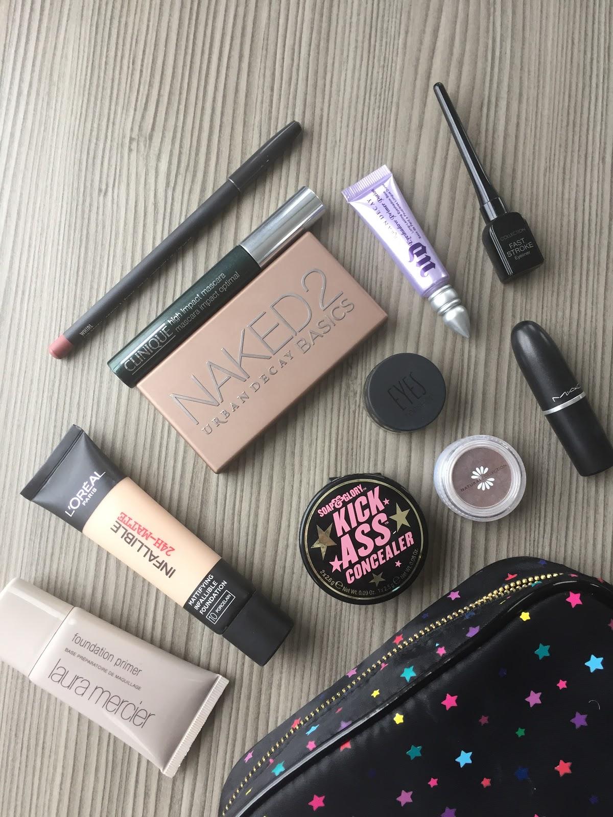 Holiday Makeup Bag