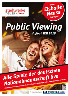 Public Viewing der Stadtwerke Neuss
