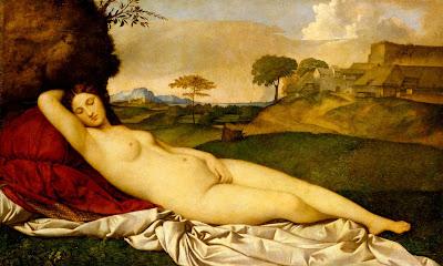 Giorgione - Venus endormie vers 1510  ( Venere dormiente )