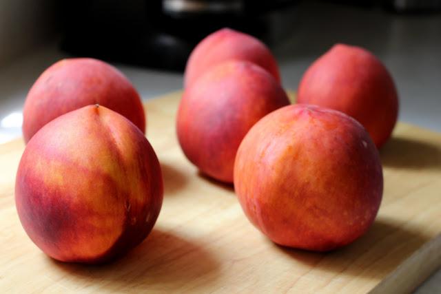 whole peach