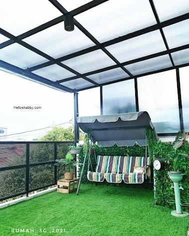 6 desain teras rumah minimalis lantai 2 di area balkon
