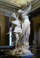 Statue of Apollo and Daphne by Gian Lorenzo Bernini circa 1622-1625 in Baroque Period