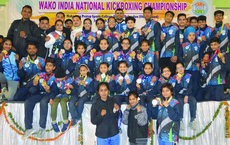 नेशनल किक बॉक्सिंग चैंपियनशिप में हरियाणा को दूसरा स्थान