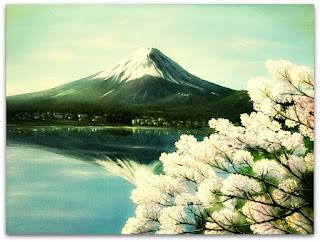 Monte Fuji, no Memorial da Colônia Japonesa, em Ivoti