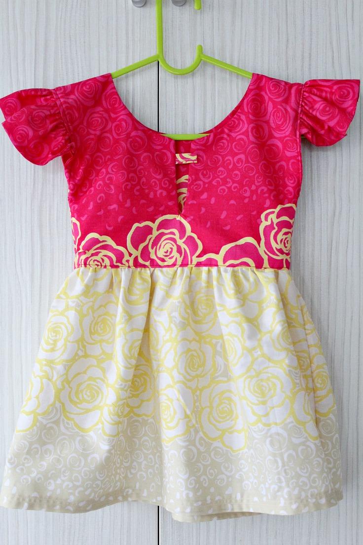 Как сшить платье для годовалой девочки своими руками фото 235