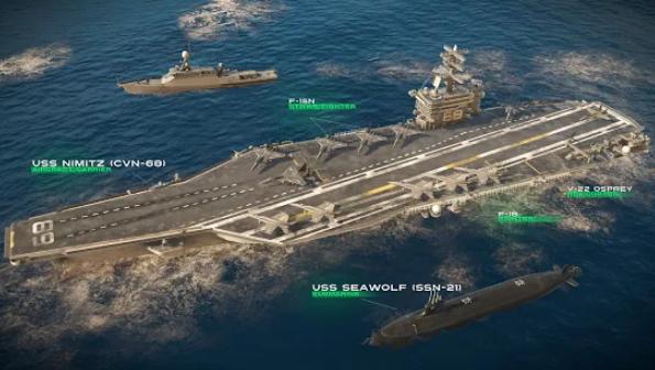 حروب حديثة: Sea Battle Online