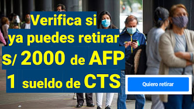 Qué deben hacer los trabajadores para retirar sus CTS, AFP y otros beneficios