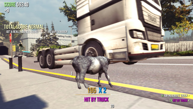 Goat Simulator screenshot 1