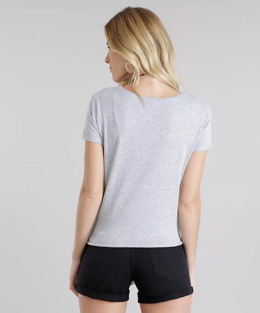 Essa blusa foi feita em malha de toque macio