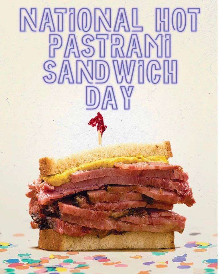 National Hot Pastrami Sandwich Day Wishes Images