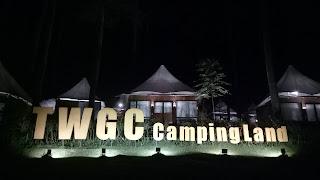 Suasana malam di TWGC