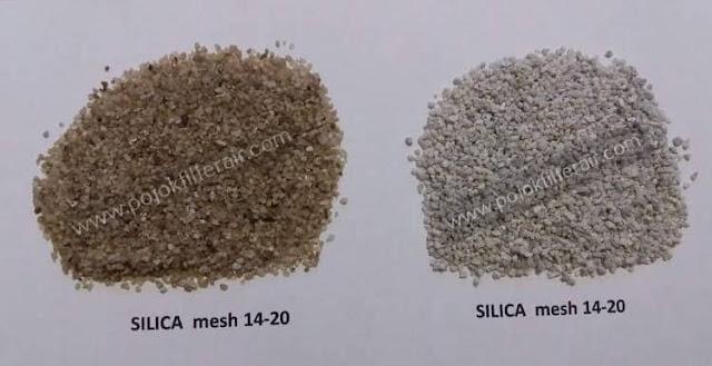 harga pasir silika