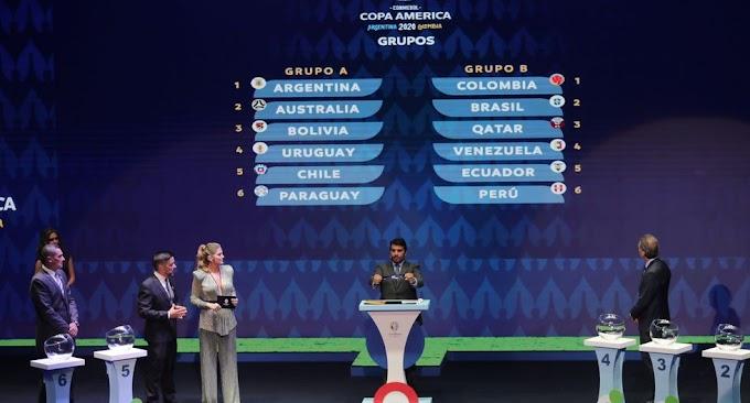 Así queda la Copa América 2020