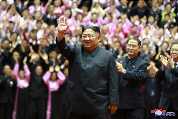 Kim Jong Un warm salute to teachers, September 6, 2019