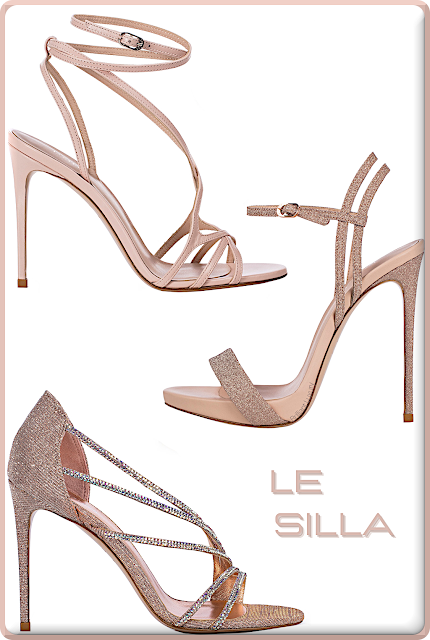 Le Silla nude skin high heel sandals #lesilla #shoes #brilliantluxury