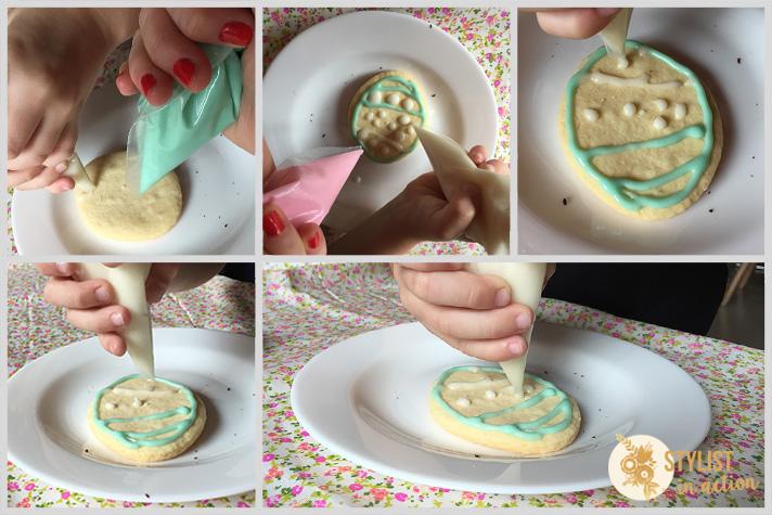 Para hacer con los chicos: Cookies decoradas con glasé para Pascuas