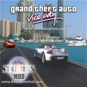 Grand Theft Auto Vice City Starman Mod PC Game Free Download