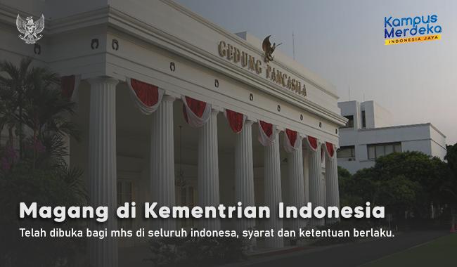 Ikut Magang di Kementrian Indonesia