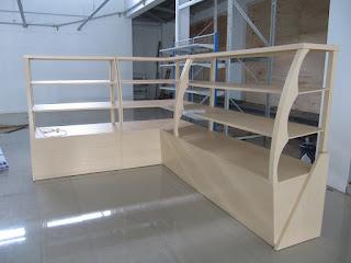 Etalase Display Stand Makanan Roti - Furniture Semarang