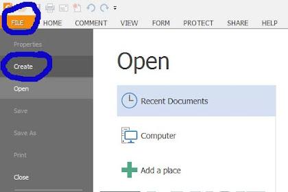 Cara Mengunci File PDF Dengan Foxit Agar Tidak Bisa di Copy Paste