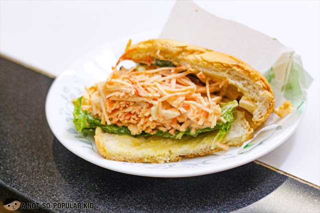 Kani Tamago Melonpan - a must-try sandwich from Melonpan Philippines