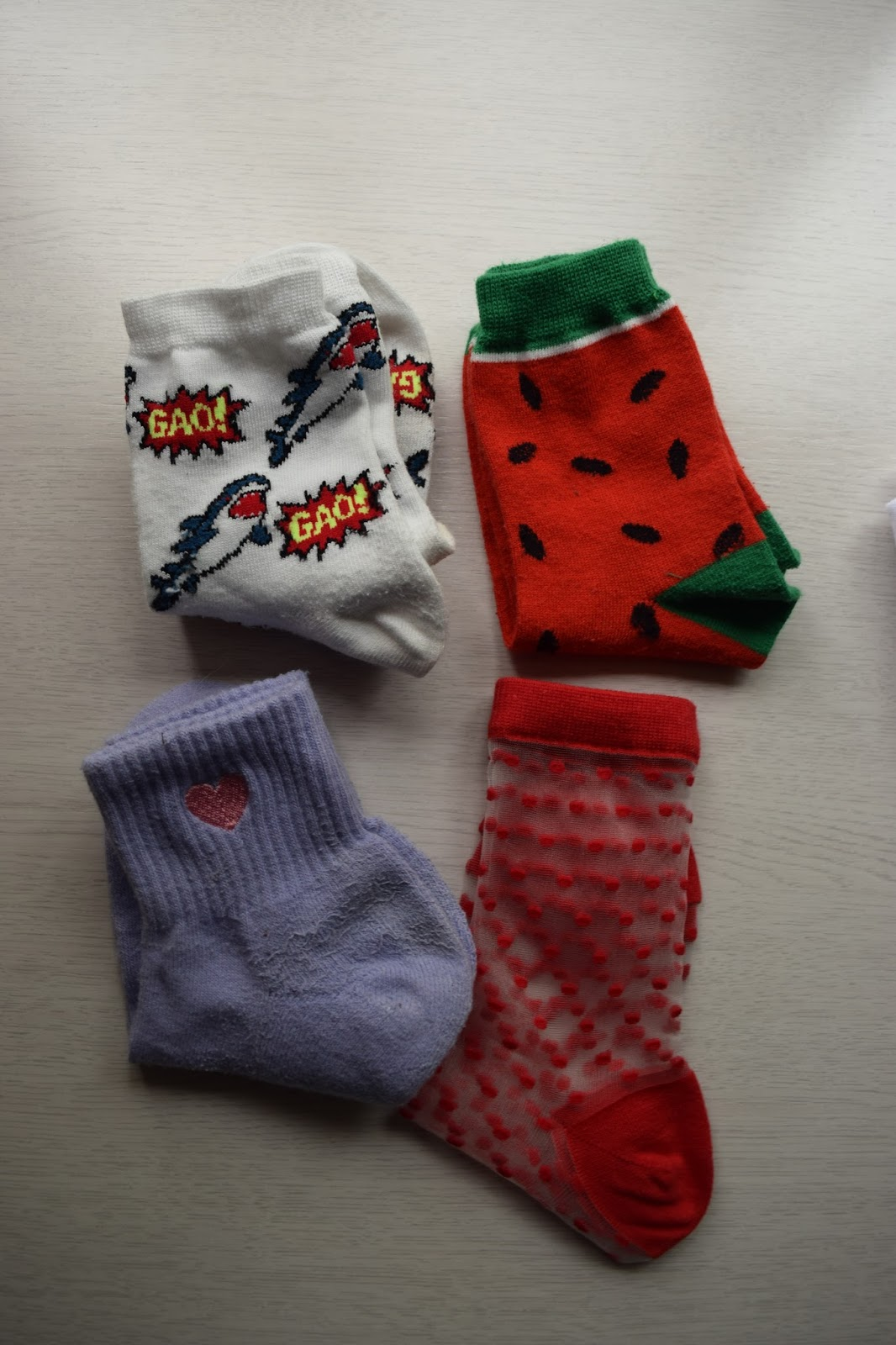 WEGO socks haul