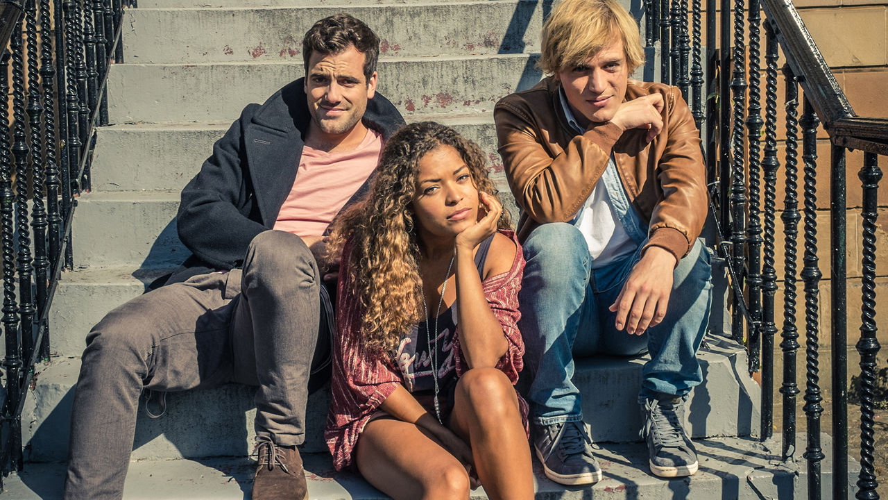 El trío protagonista de 'Lovesick'