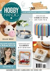 I design and write for HobbyHandig/HomeDeco
