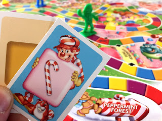 Someone playing Candy Land with the two-card variant.