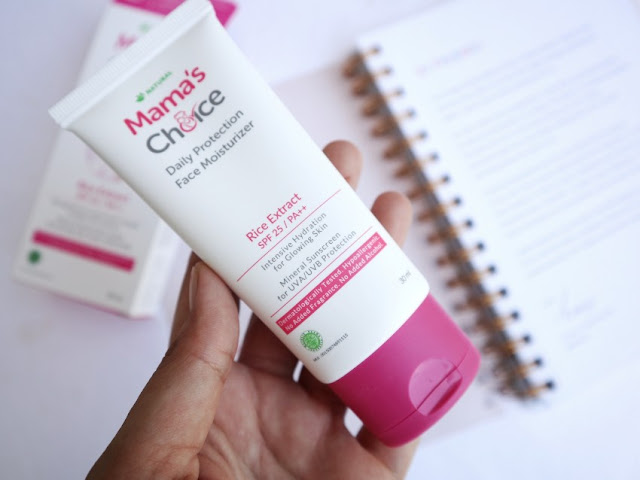 Review Mama's Choice Daily Protection Face Moisturizer