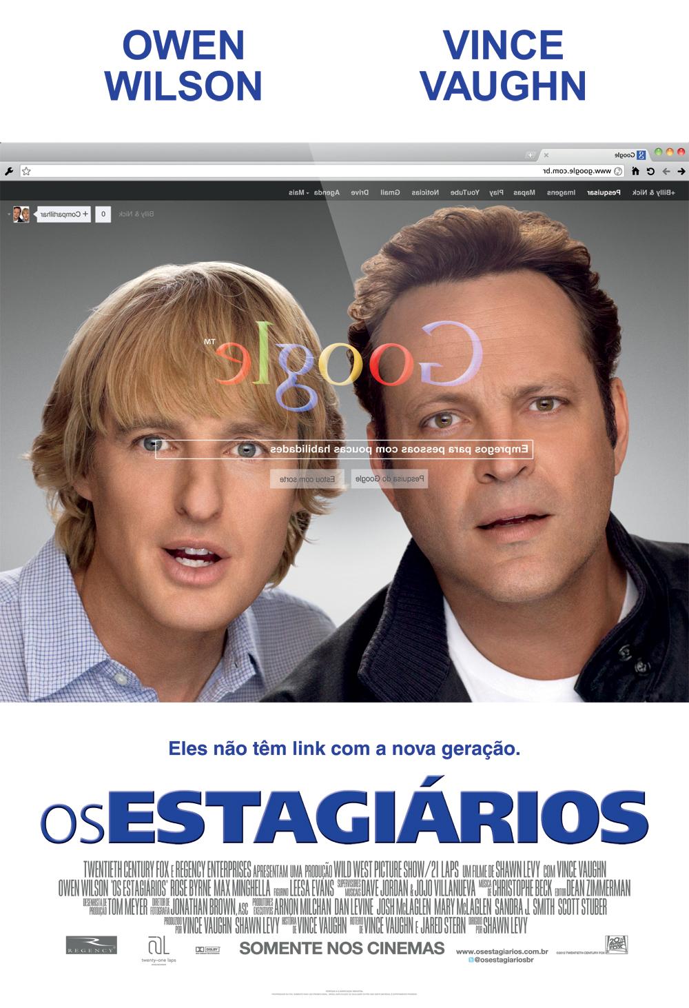 Capa do Filme Os Estagiários