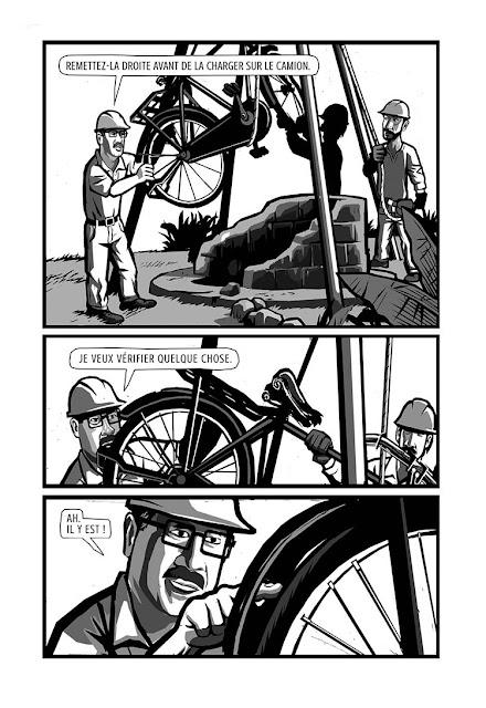 page de la Bicyclette de Cheah Sinann chez la boîte à bulles