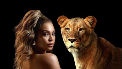 Beyoncy-the-lion-king