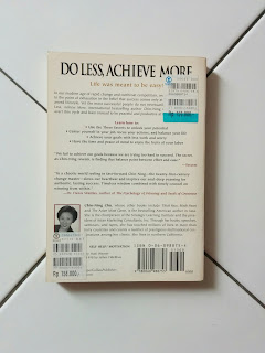 Do Less, Achieve More by Chin-Ning Chu