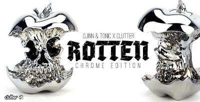 Rotten Chrome Edition Resin Figure by Djinn & Tonic x Clutter