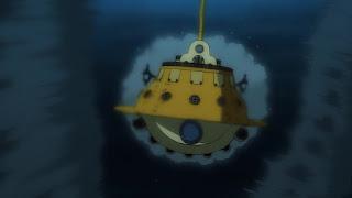 ワンピースアニメ 992話 ワノ国編   ONE PIECE ポーラータング号