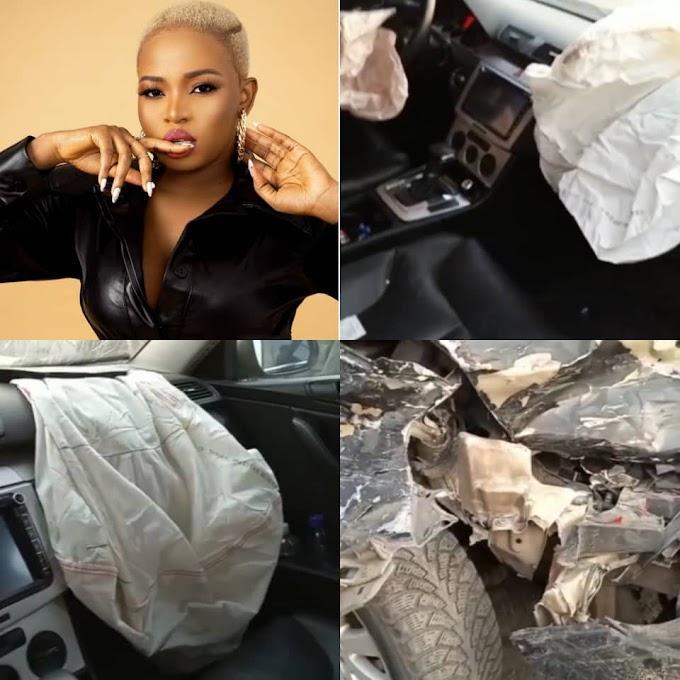BBNaija's Cindy survives car accident on her birthday