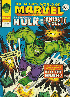Mighty World of Marvel #312, the Hulk