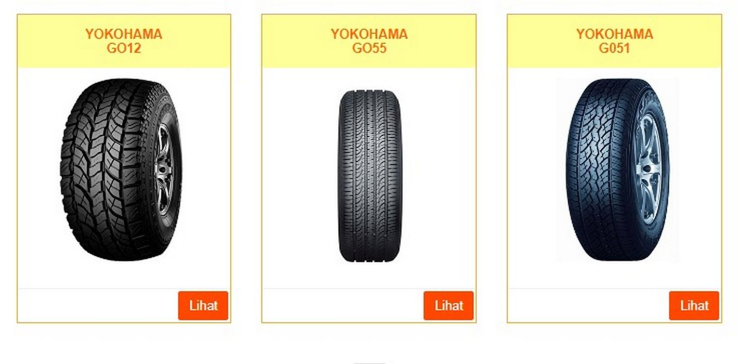 Harga Ban Mobil Yokohama - Ban Mobil Terbaik Untuk Jalan Basah dan Kering